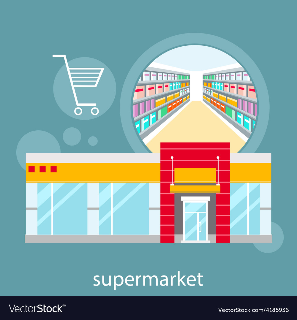 General store shopping mall and fashion store vector | Price: 1 Credit (USD $1)