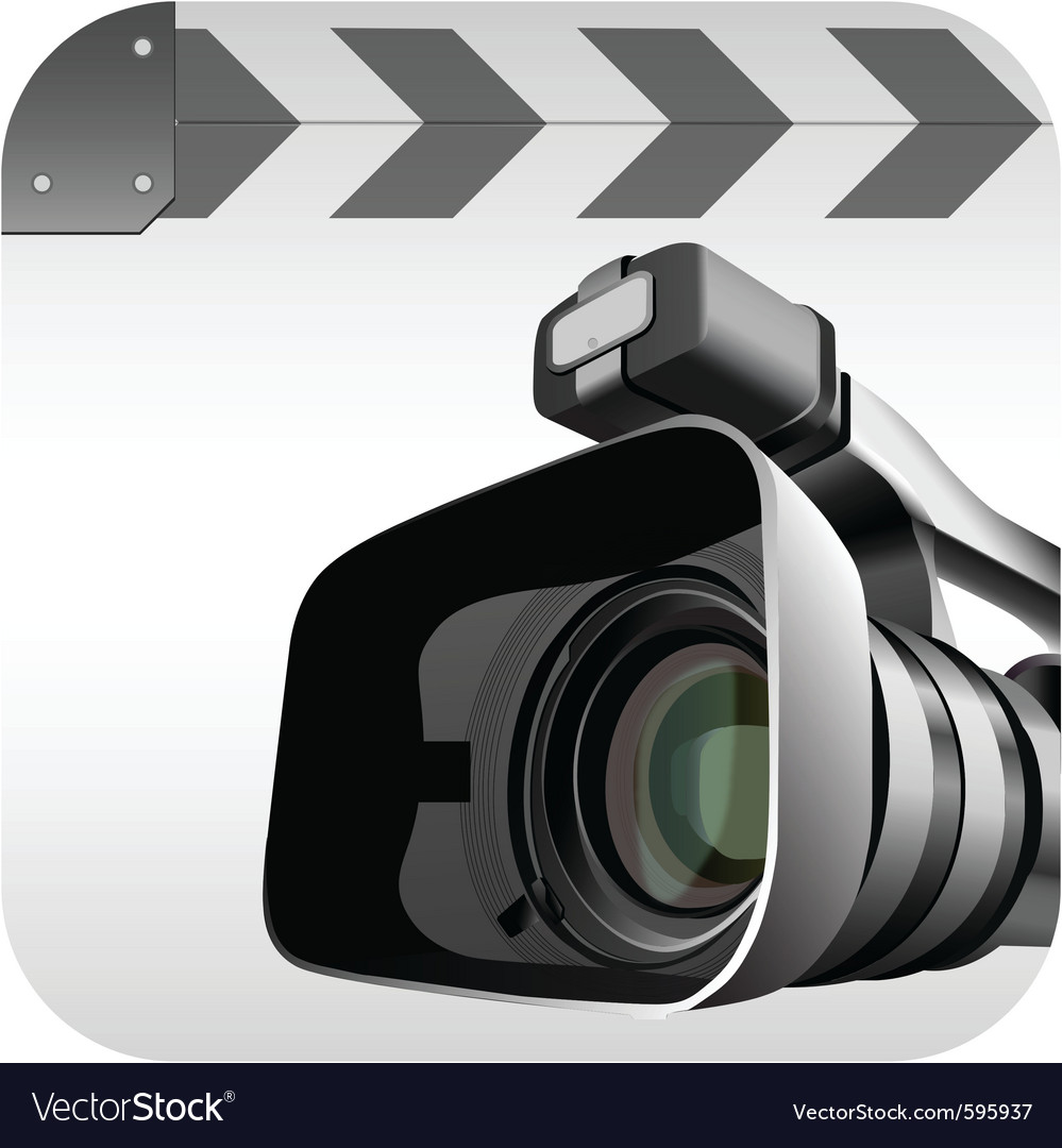 Video camera vector | Price: 3 Credit (USD $3)