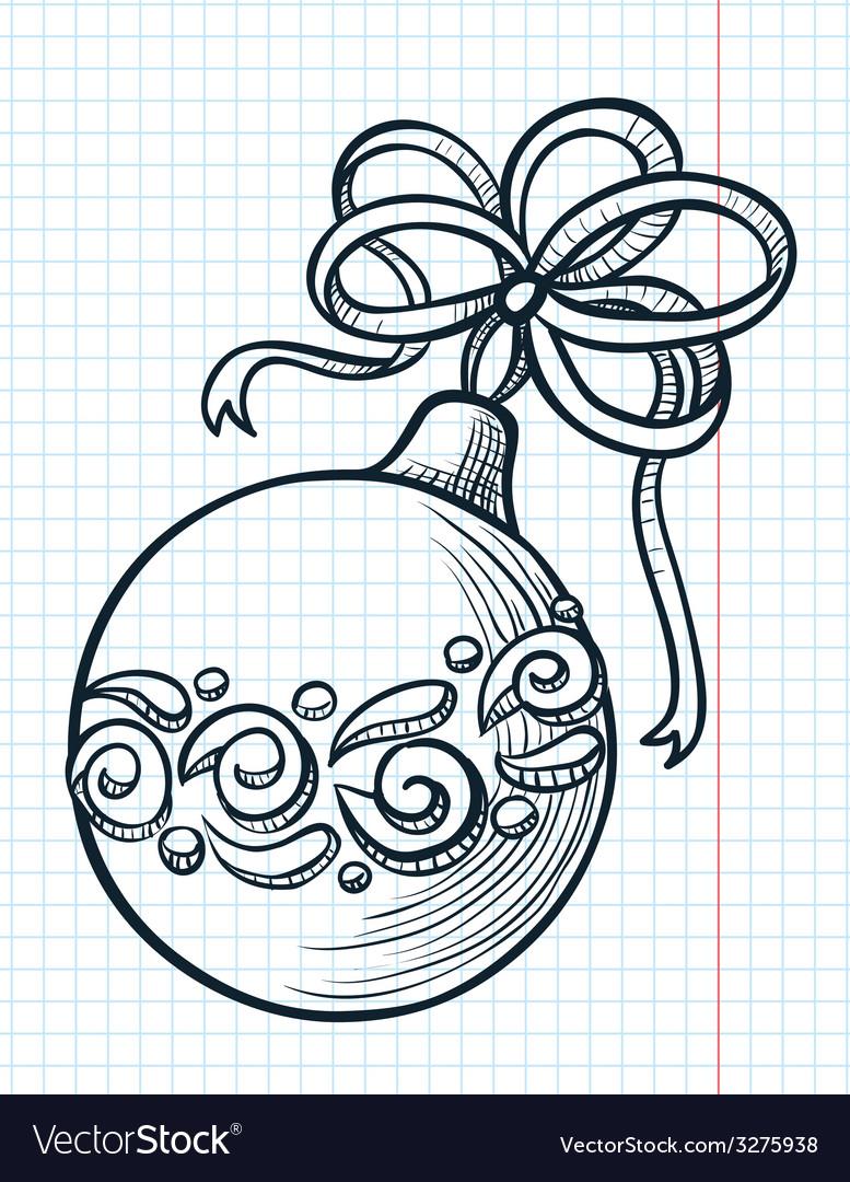 Ball decoration vector | Price: 1 Credit (USD $1)