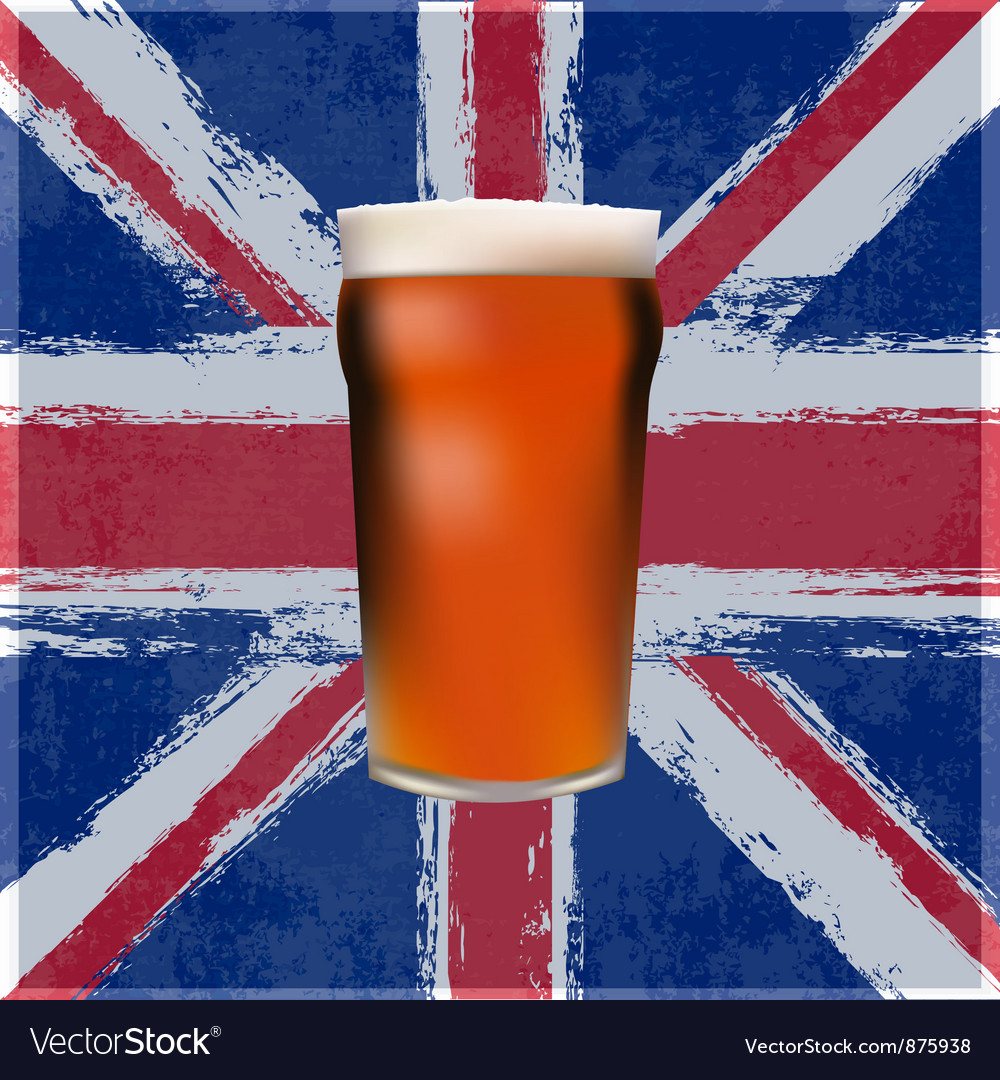 British pint vector | Price: 1 Credit (USD $1)