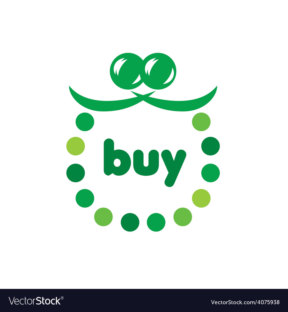 Logo green purse circles vector | Price: 1 Credit (USD $1)