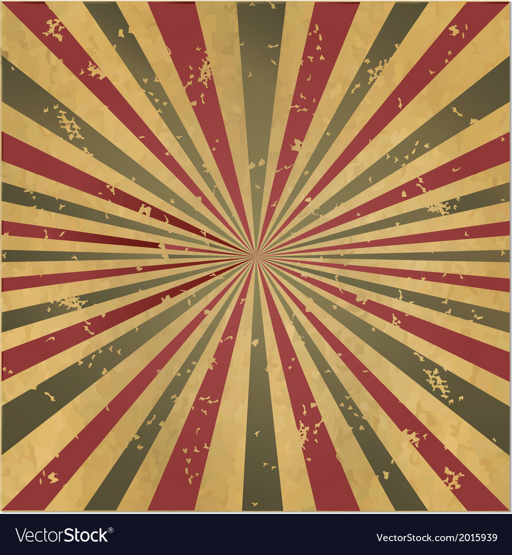 Vintage burst background vector | Price: 1 Credit (USD $1)