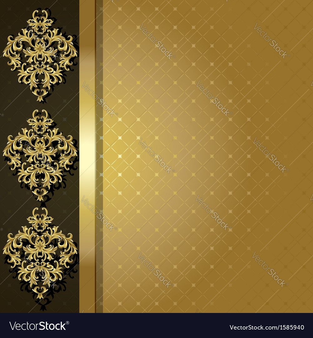 Gold backgroun vector | Price: 1 Credit (USD $1)