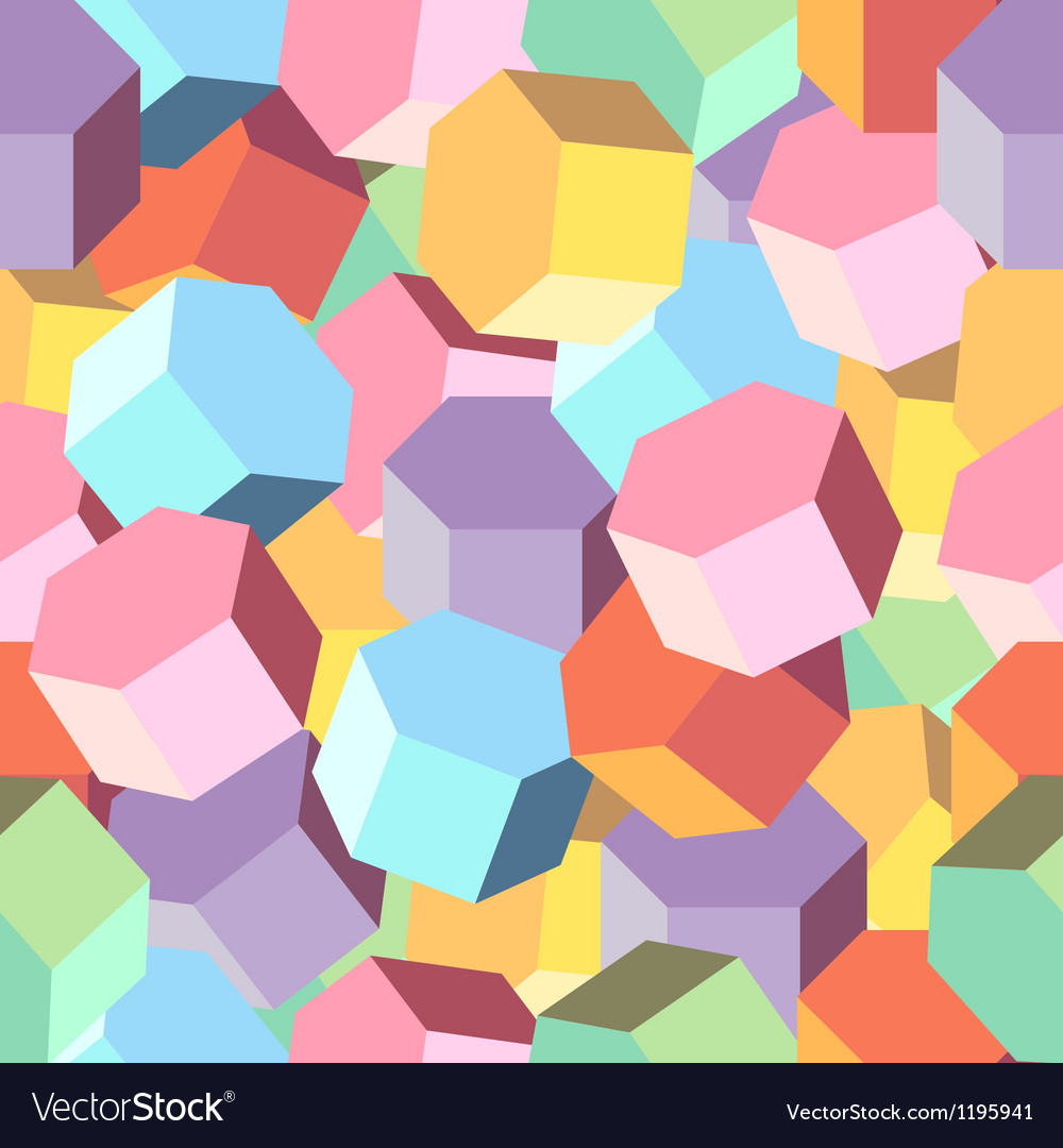 Background multi colored rhombus vector | Price: 1 Credit (USD $1)
