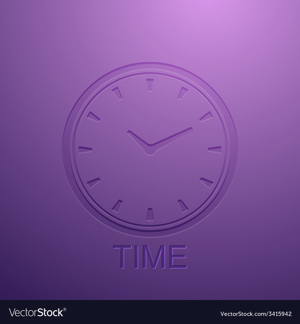 Background with clock icon vector | Price: 1 Credit (USD $1)