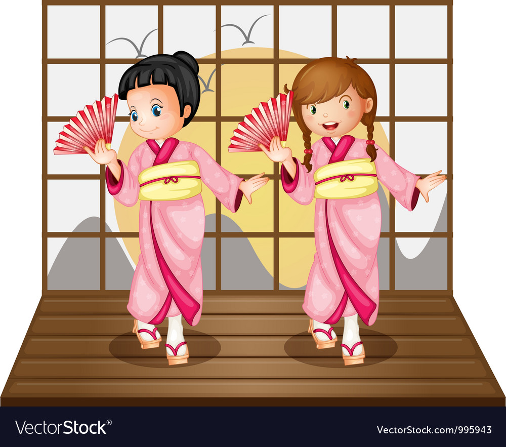 Asian dancers vector   Price: 3 Credit (USD $3)