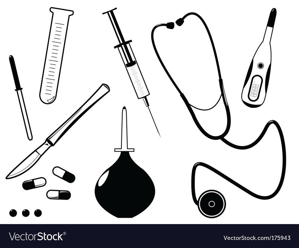 Medical tool vector | Price: 1 Credit (USD $1)