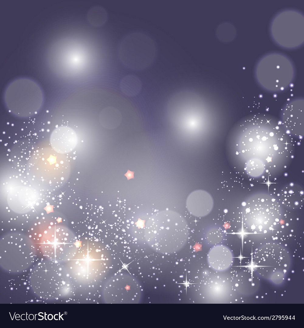 Christmas glossy star background vector | Price: 1 Credit (USD $1)
