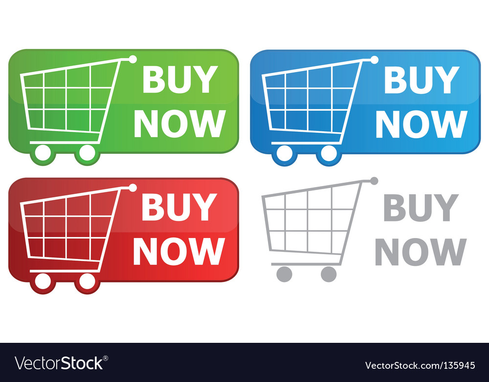 Button grocery cart vector | Price: 1 Credit (USD $1)