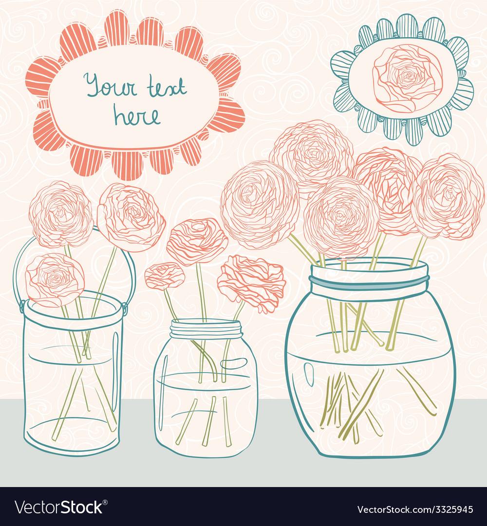 Flowerbattleandtext vector | Price: 1 Credit (USD $1)
