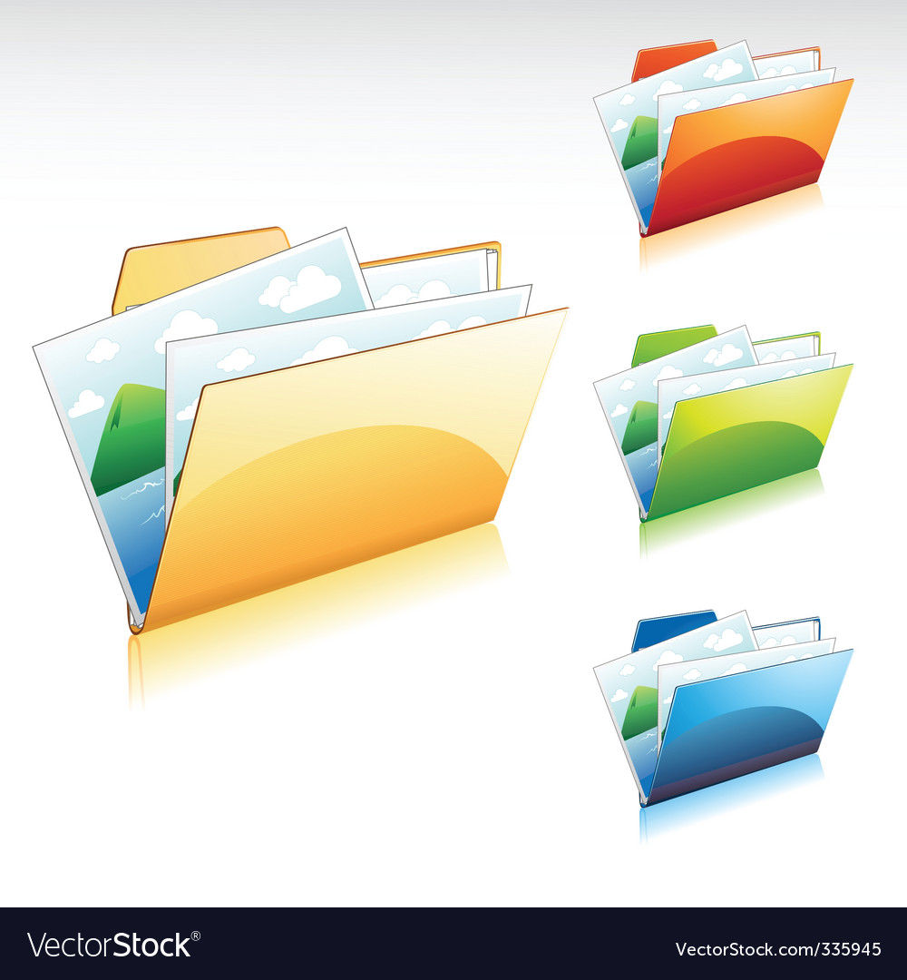 Folder vector | Price: 3 Credit (USD $3)