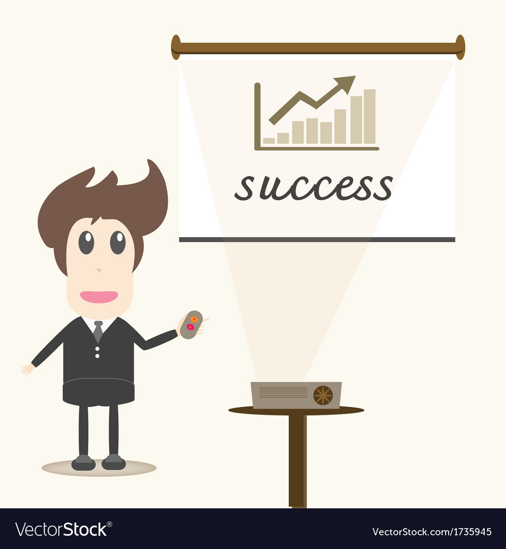 Successful businessman vector   Price: 1 Credit (USD $1)