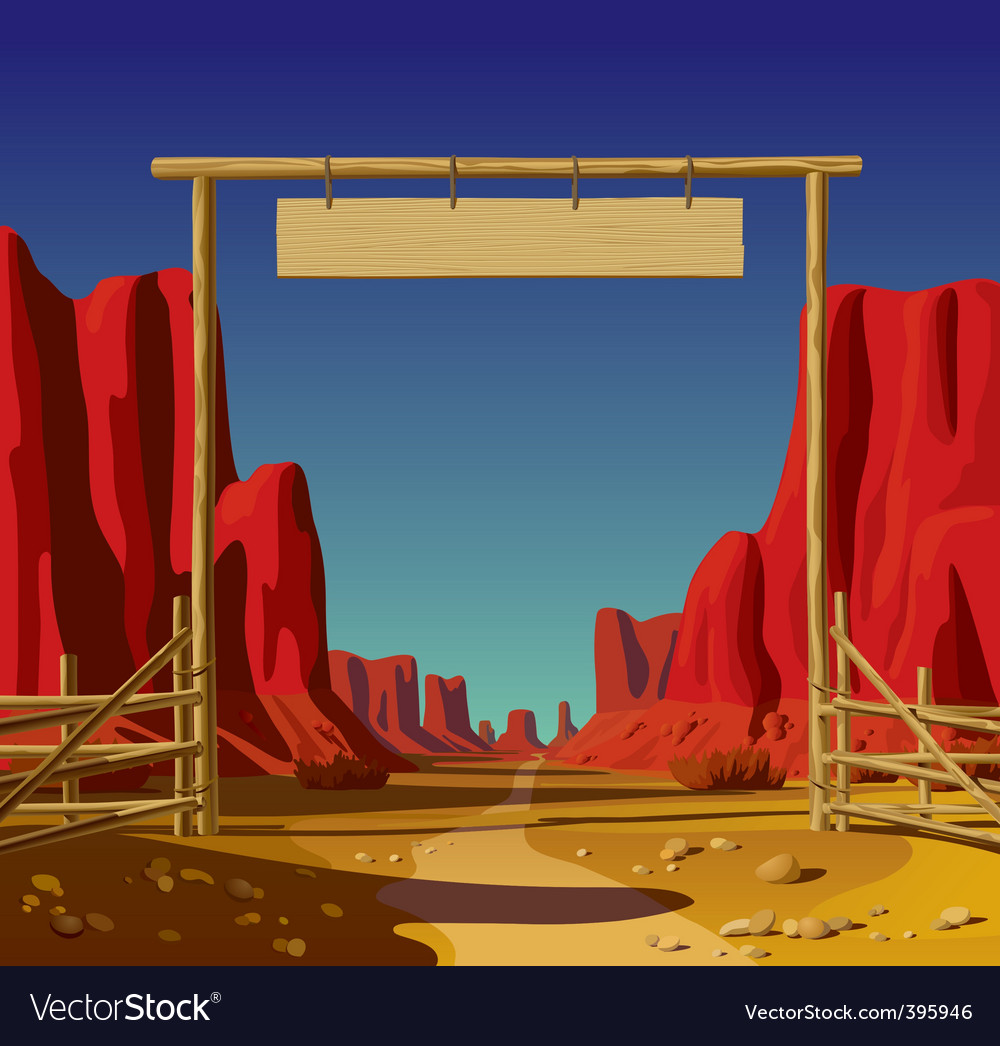 Wild west vector | Price: 3 Credit (USD $3)