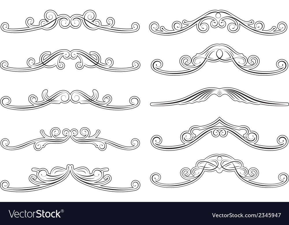 Decorations vector | Price: 1 Credit (USD $1)