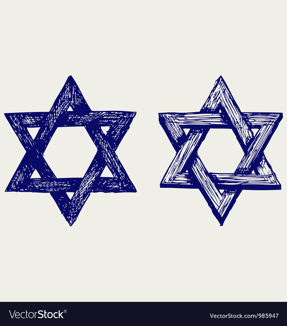 Judaic religion vector | Price: 1 Credit (USD $1)
