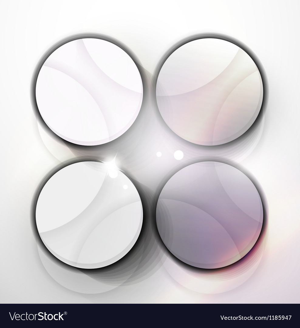 Modern abstract geometric design template vector | Price: 1 Credit (USD $1)