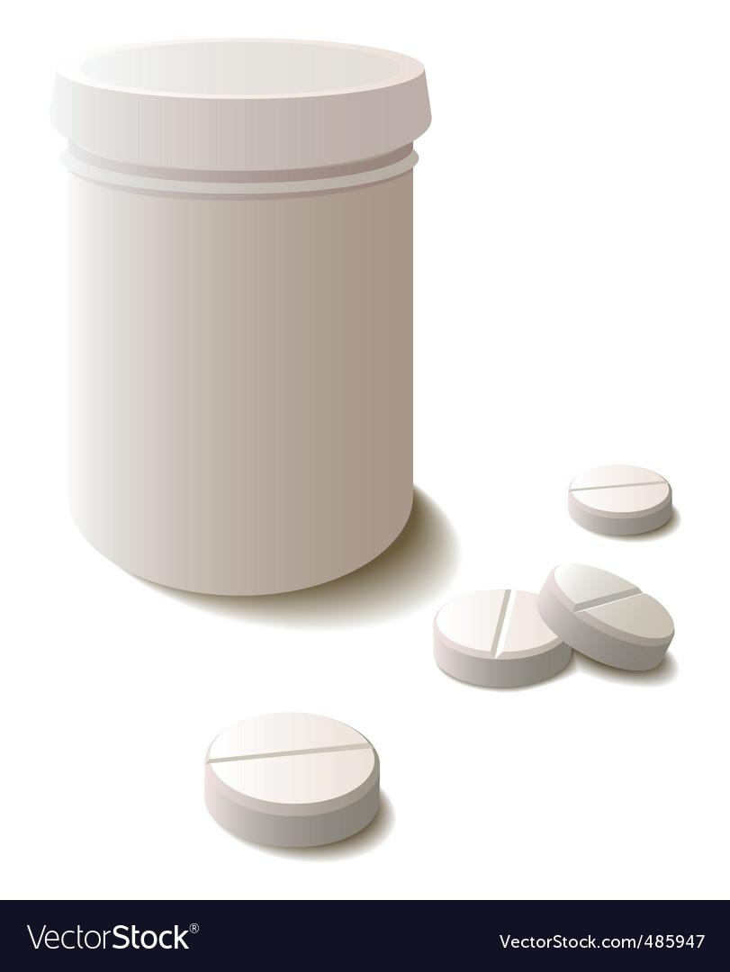 Pills vector | Price: 1 Credit (USD $1)