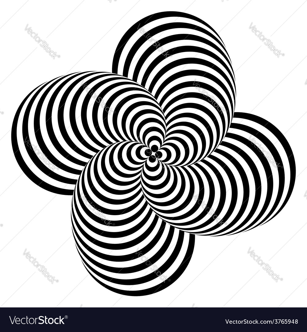 Design monochrome whirlpool motion background vector | Price: 1 Credit (USD $1)