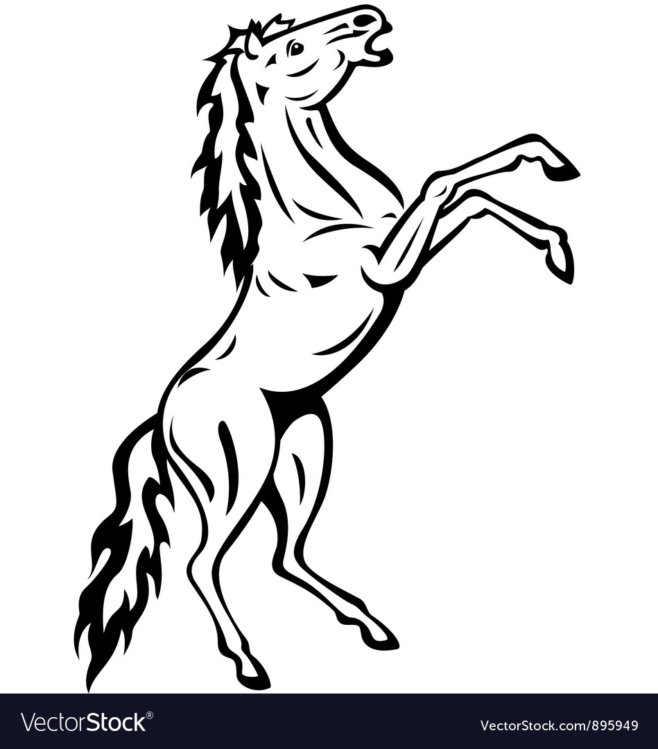 Horse tattoo vector | Price: 1 Credit (USD $1)