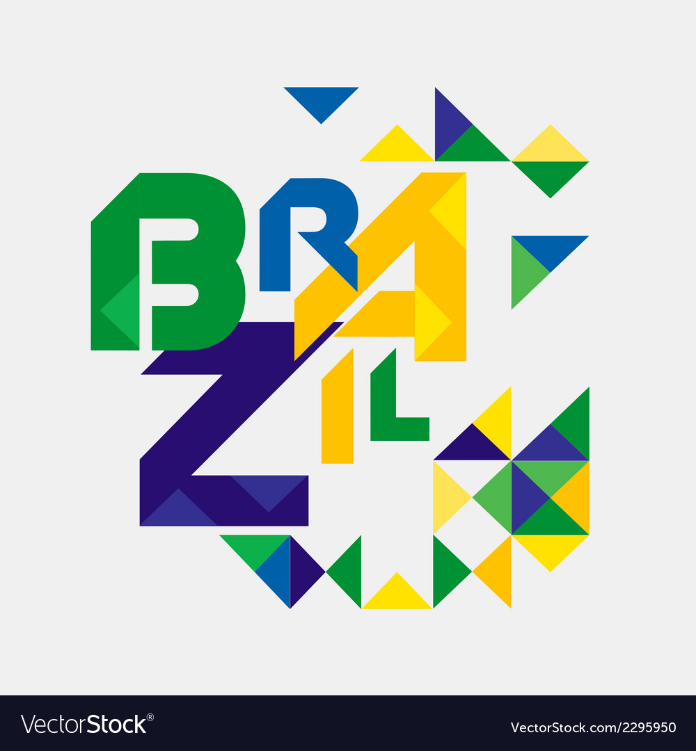 Abstract brazil vector   Price: 1 Credit (USD $1)