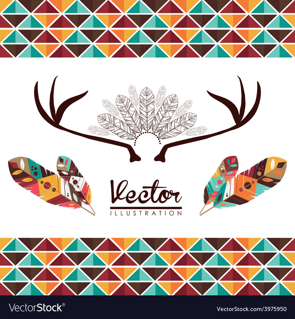 Feather decoration vector | Price: 1 Credit (USD $1)