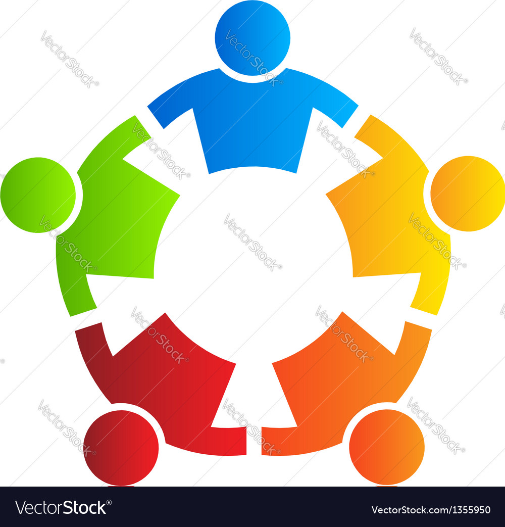 People strong 5  design element vector