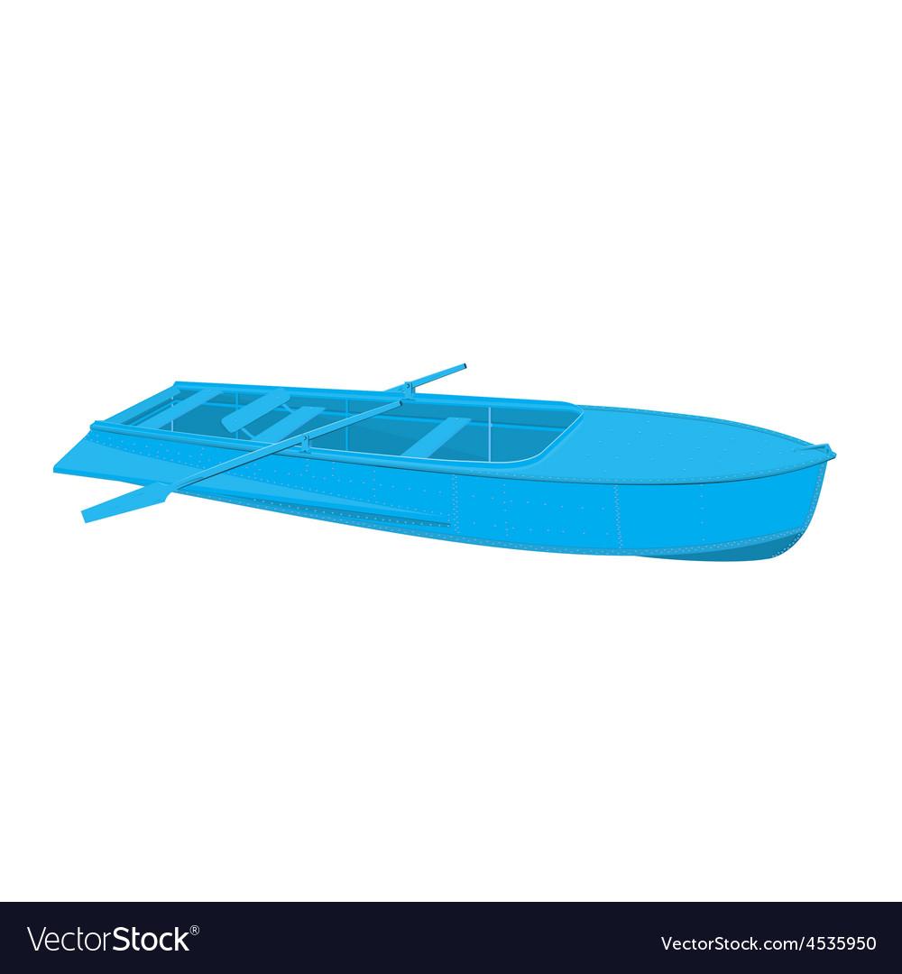 Rowing boat vector | Price: 1 Credit (USD $1)