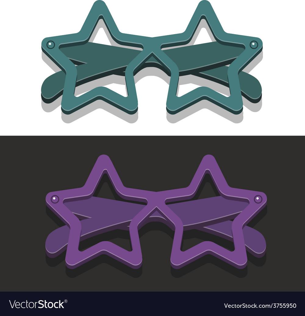 Stareyeglasses vector | Price: 1 Credit (USD $1)