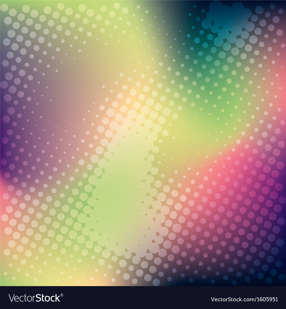 Abstract colorful halftone banner background vector | Price: 1 Credit (USD $1)