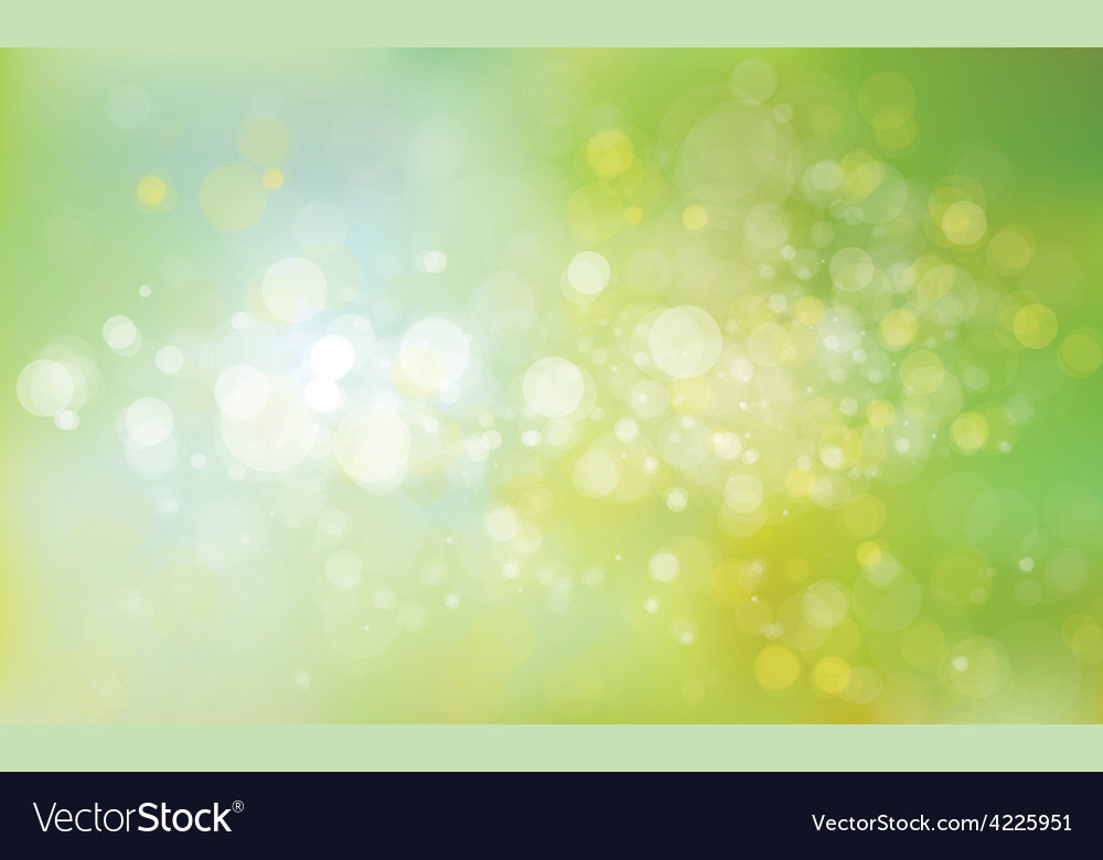 Green lights background vector | Price: 1 Credit (USD $1)