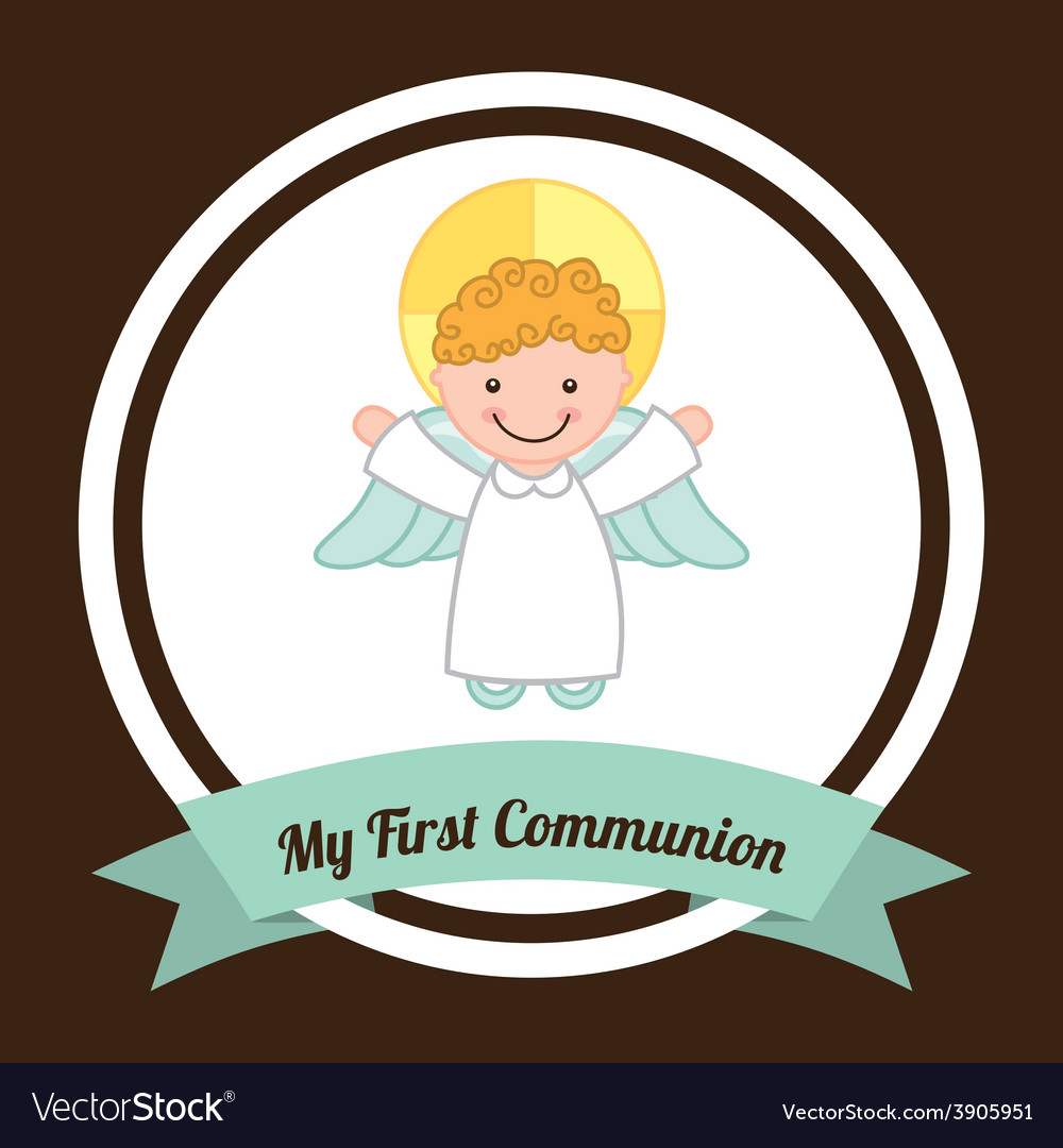 My first communion vector | Price: 1 Credit (USD $1)