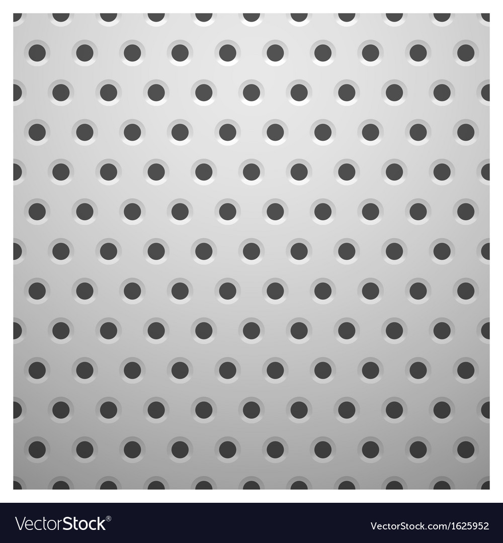 White metal texture with holes vector | Price: 1 Credit (USD $1)