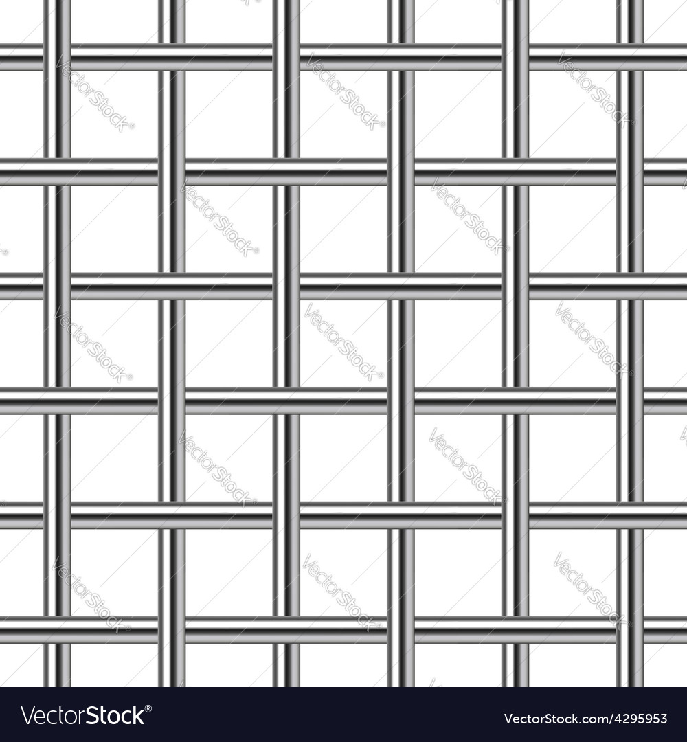 Chrome metal grid seamless background vector | Price: 1 Credit (USD $1)