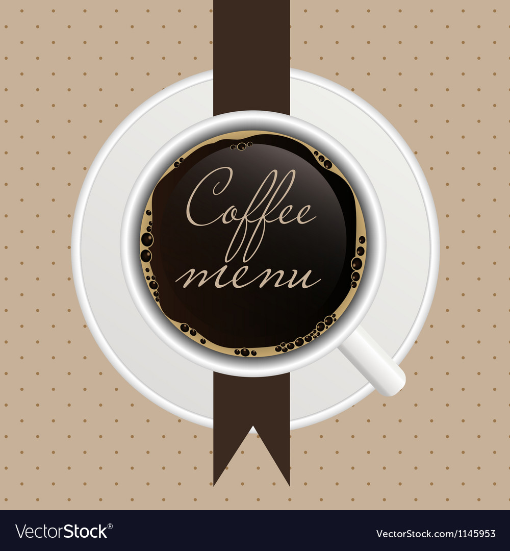 The concept of coffeehouse menu vector | Price: 1 Credit (USD $1)
