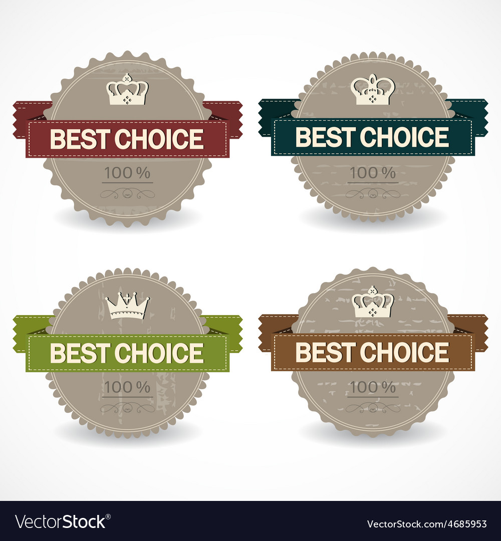 Set of sale badges vector | Price: 1 Credit (USD $1)
