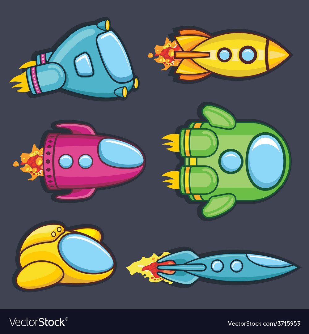 Spacecraft vector | Price: 1 Credit (USD $1)
