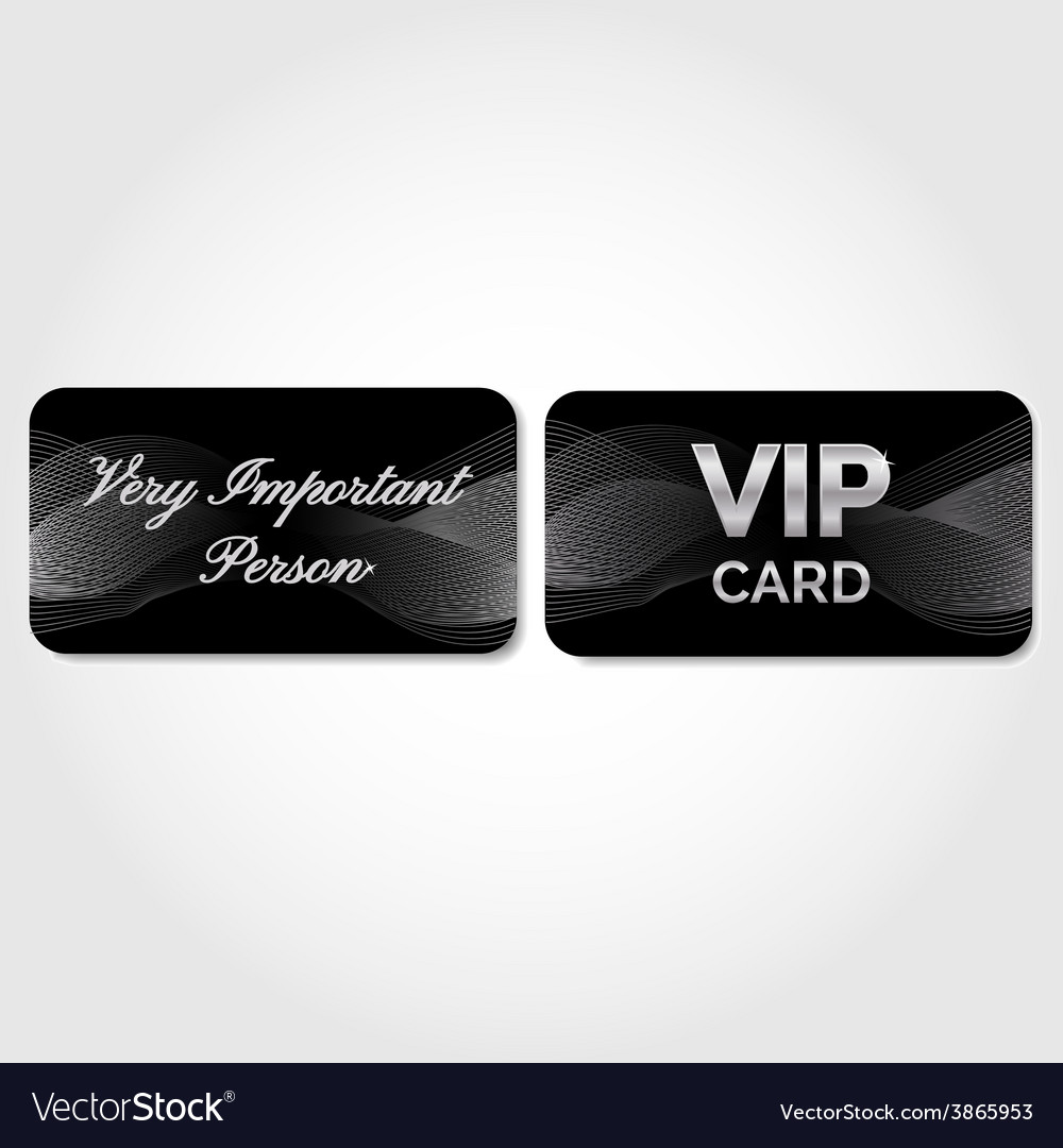 Vip card with silver abstract pattern vector   Price: 1 Credit (USD $1)