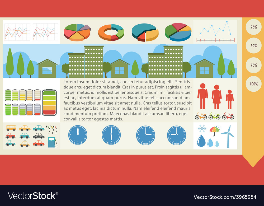 A graphical infochart vector   Price: 1 Credit (USD $1)