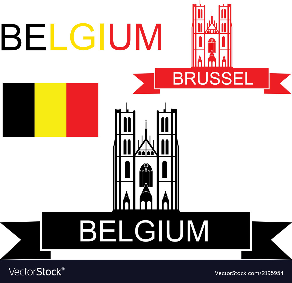 Belgium vector | Price: 1 Credit (USD $1)