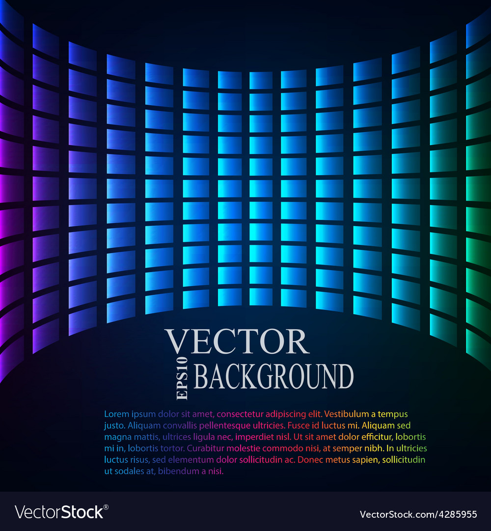 Abstract background perspective tiled vector | Price: 1 Credit (USD $1)