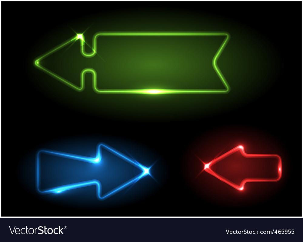 Arrow design elements vector | Price: 1 Credit (USD $1)