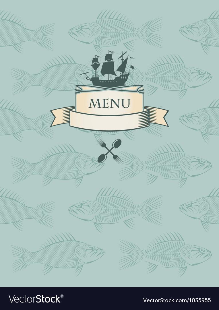 Fish menu vector | Price: 1 Credit (USD $1)