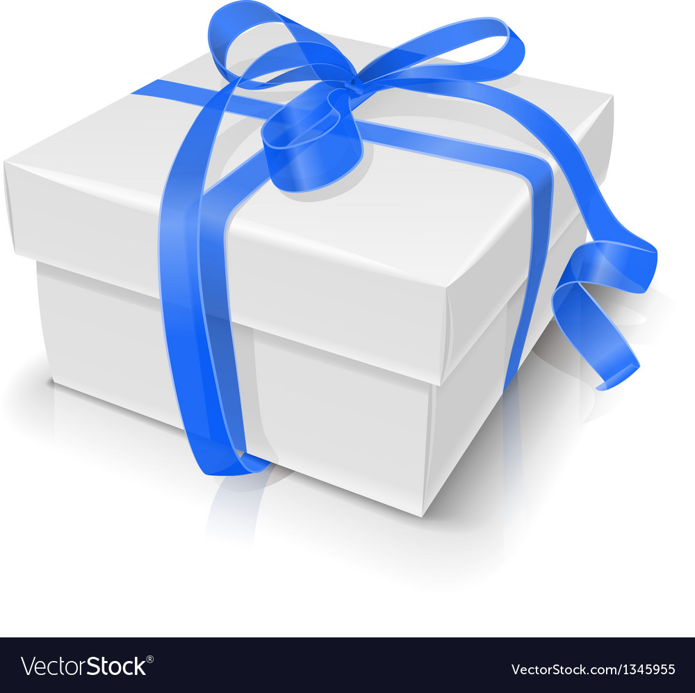 Gift box with bow vector | Price: 1 Credit (USD $1)