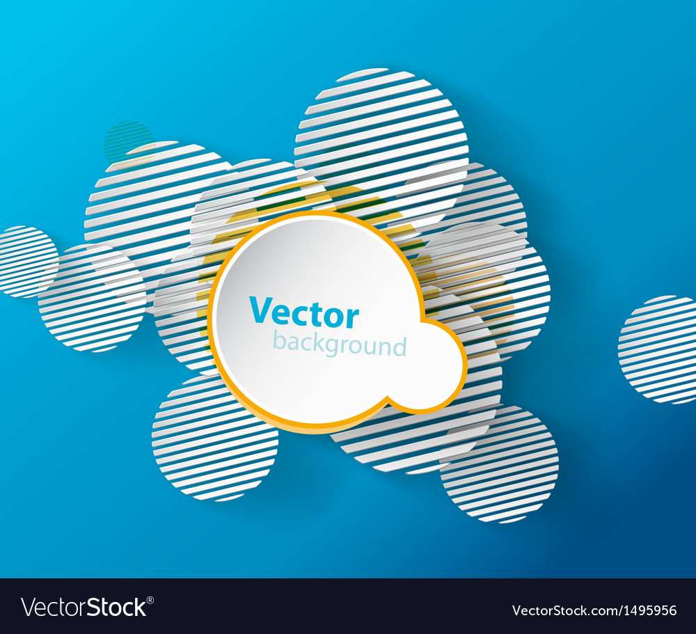 Abstract background with circles and place for vector | Price: 1 Credit (USD $1)