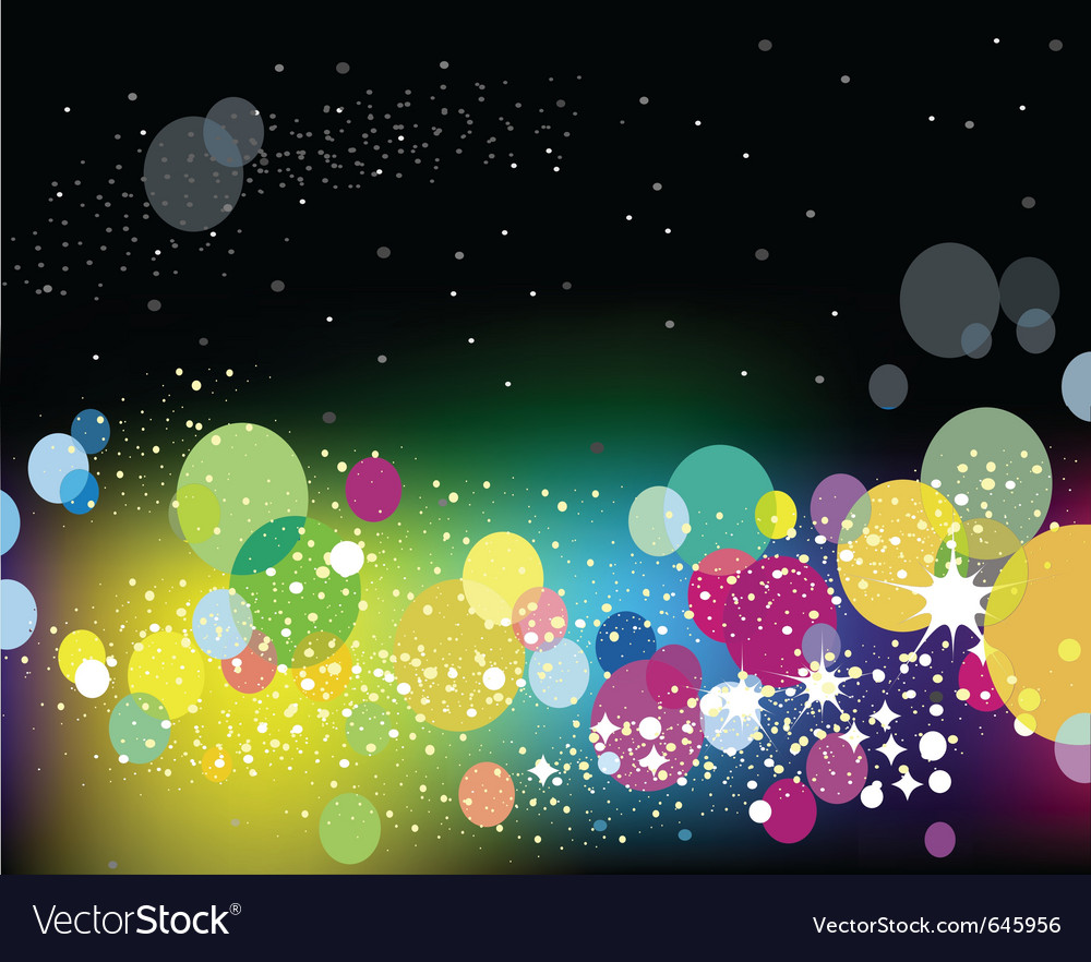 Lights background vector | Price: 1 Credit (USD $1)