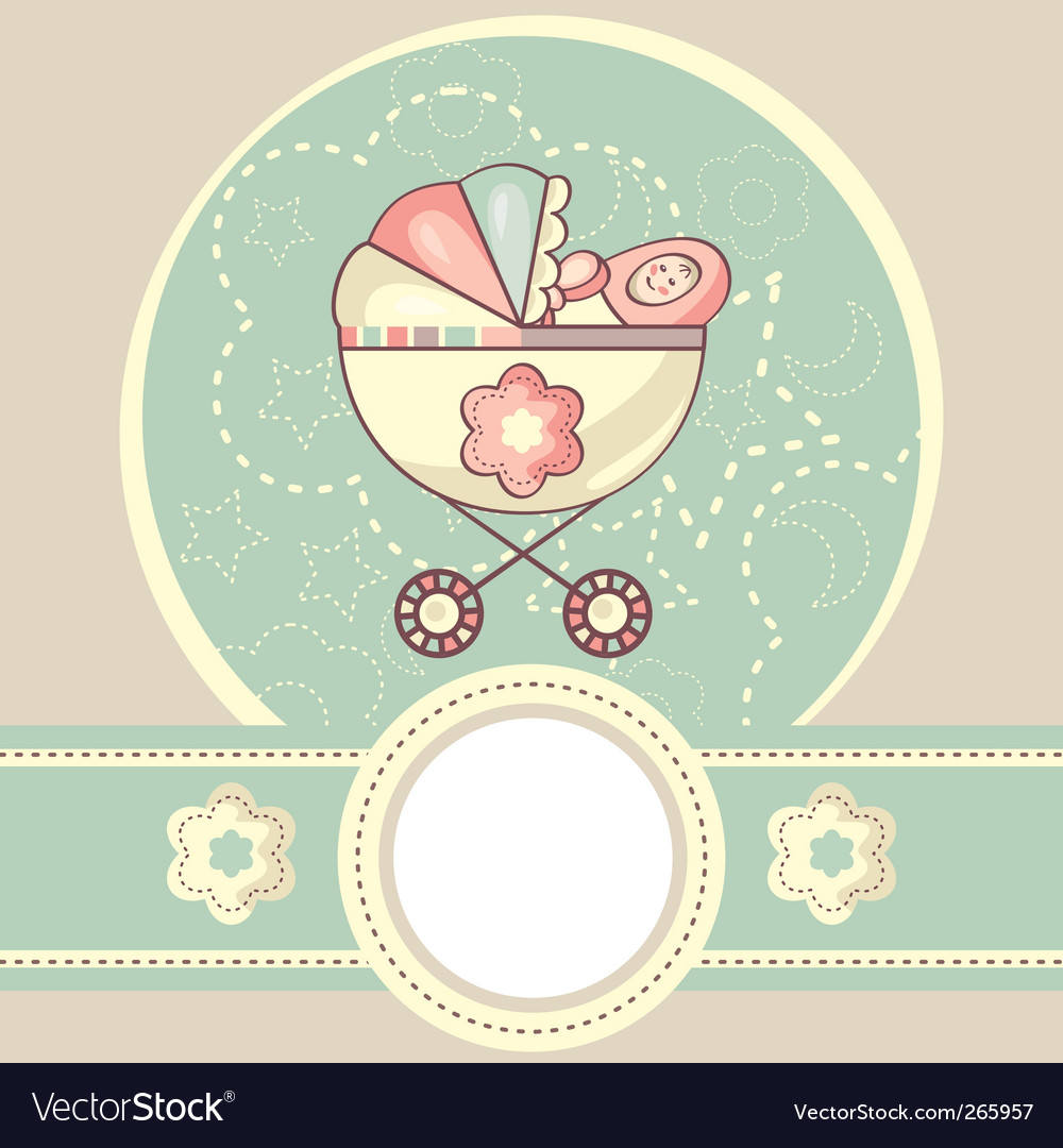 Abstract baby background vector | Price: 1 Credit (USD $1)