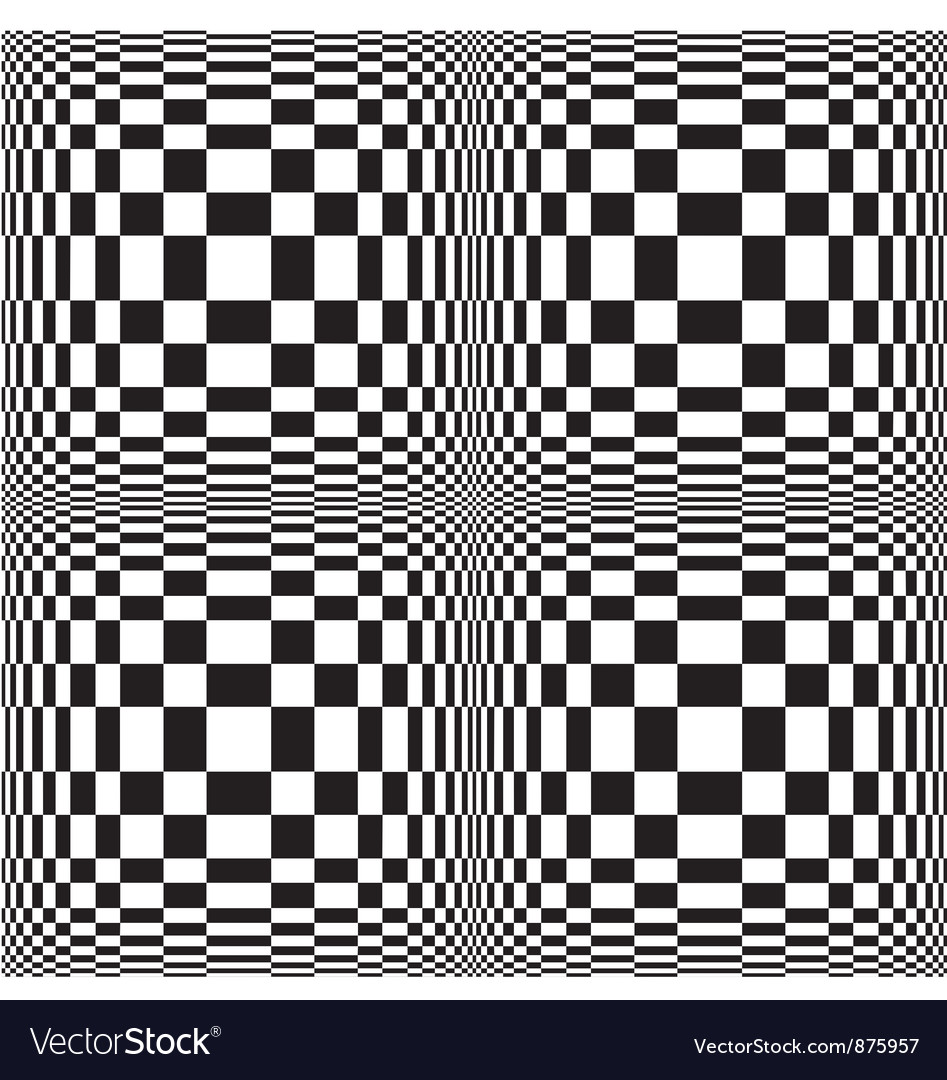 Abstract black and white pattern vector | Price: 1 Credit (USD $1)