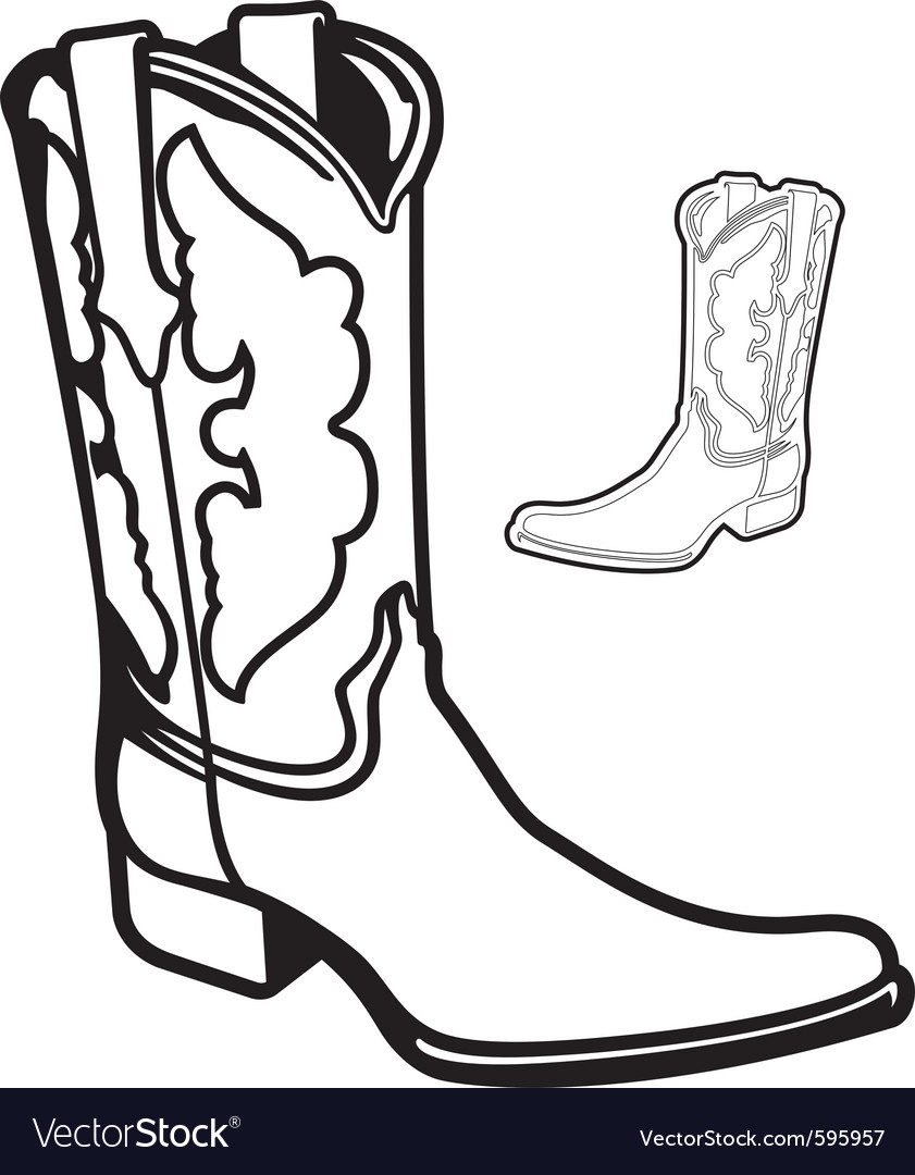 Boot vector | Price: 1 Credit (USD $1)