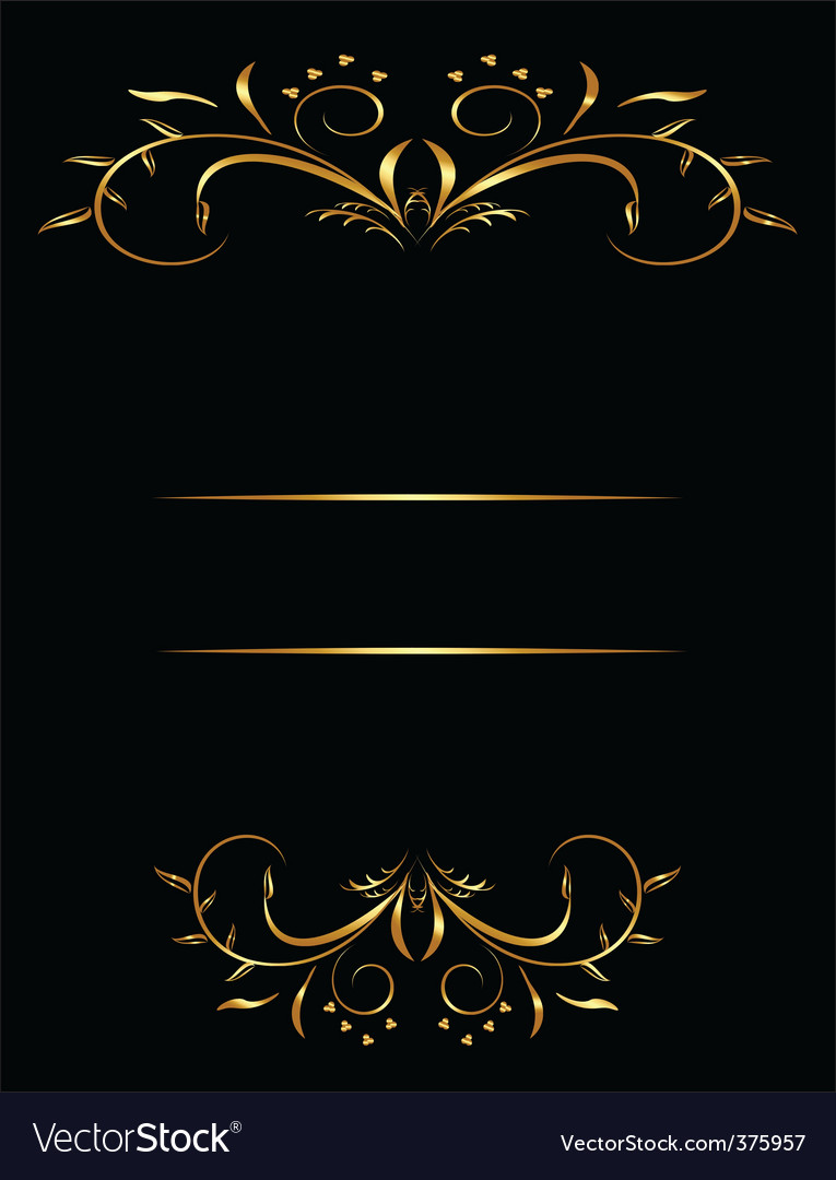 Decorative card vector | Price: 1 Credit (USD $1)