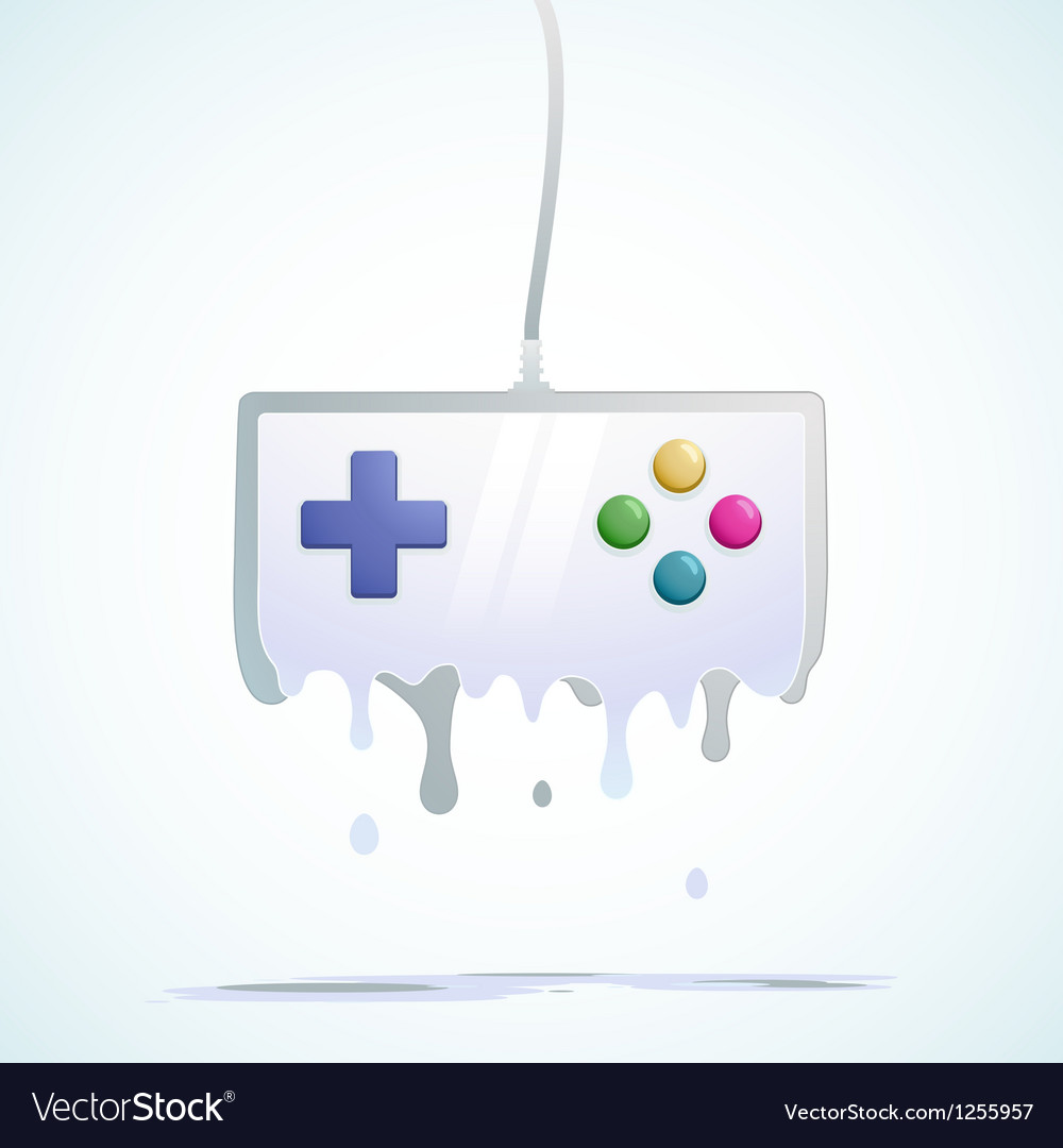 Liquid gamepad vector | Price: 1 Credit (USD $1)